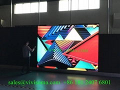 Vivisoma indoor P2.97 easy installation rental led display