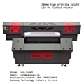 Stable 280mm high printing height automaticly led uv printer for phone case