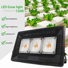 Waterproof CE ROHS 50w 100w 150w IP68 cob led grow light