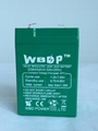 免维护铅酸蓄电池6V4.5AH