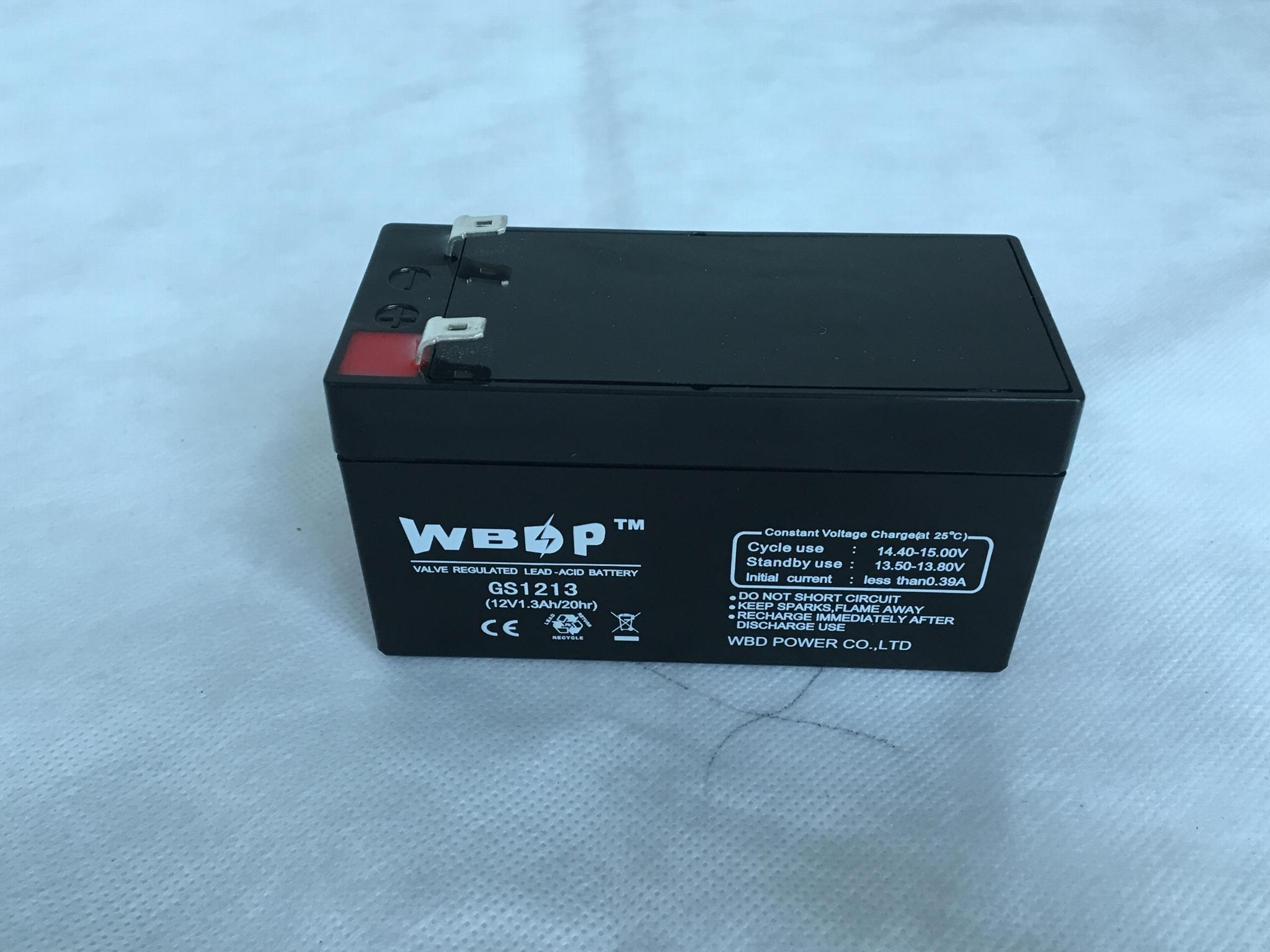 免维护铅酸蓄电池12V1.2AH 3