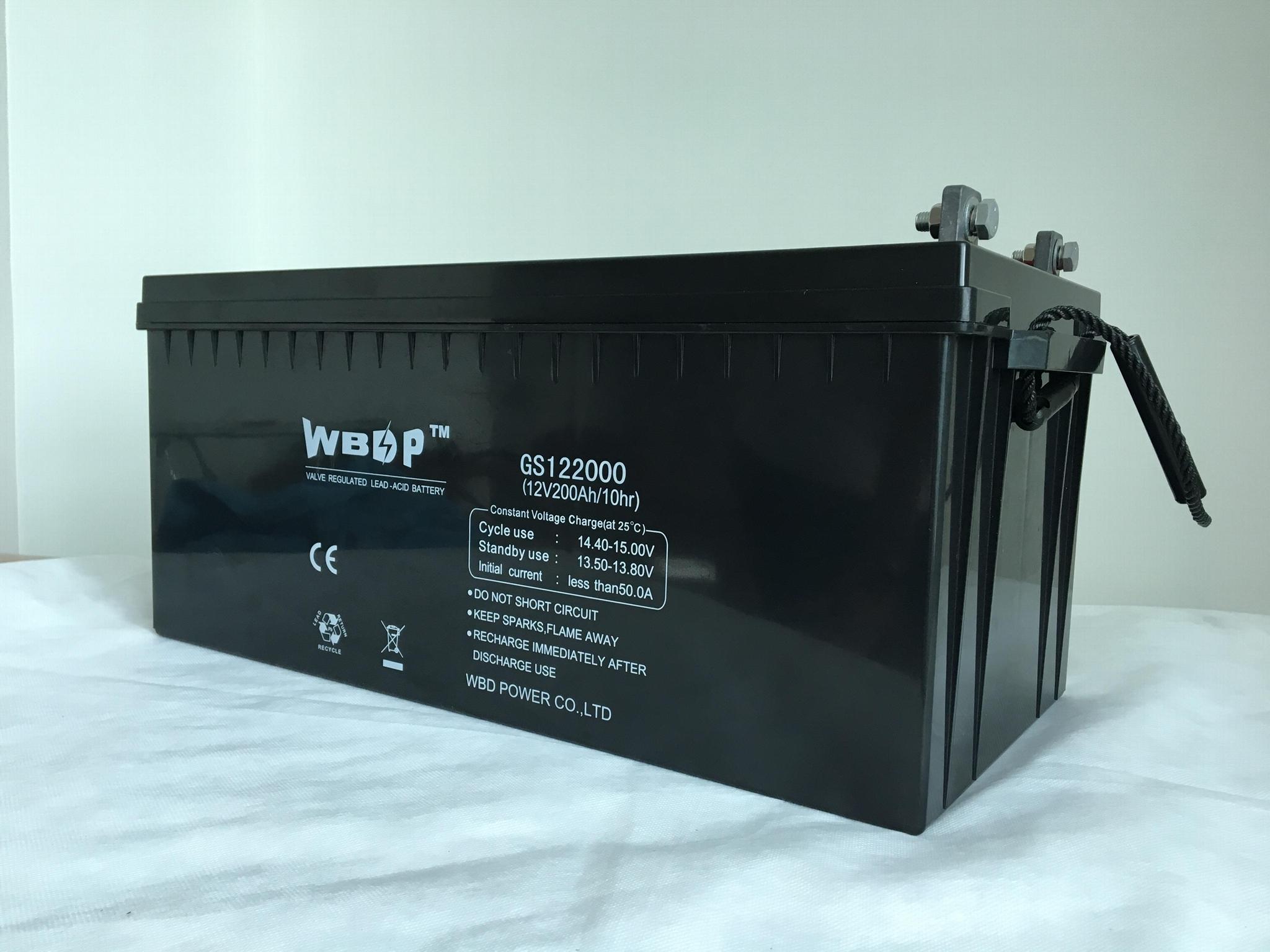 膠體免維護蓄電池12V200AH 3