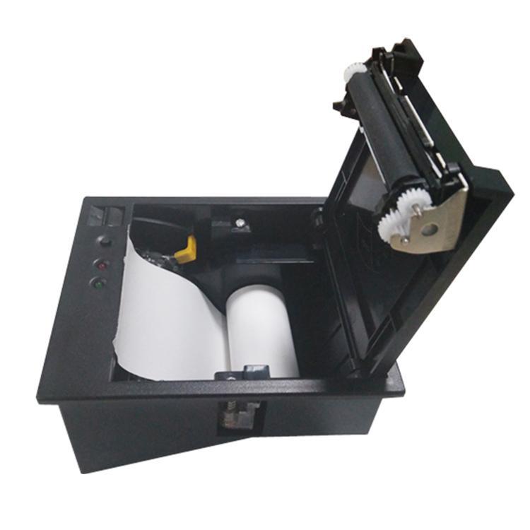 自助收银打印机58MM前装纸面板打印机 4