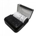 80MM便携蓝牙打印机提供开发包手持终端打印机 3