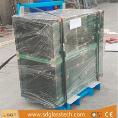 Clear Float Toughened Laminated Balustrade Building Glass