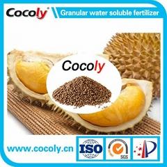 Granular water soluble fertilizer for all fertilization