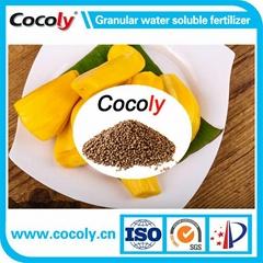 100% water solubility multinutrient fertilizer granules