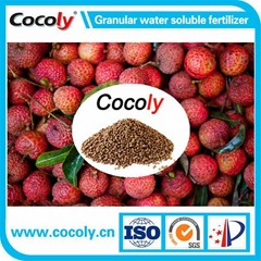 Cocoly granular water-soluble fertilizer for all irrigation