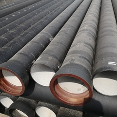 k7 specification water 1800mm ductile iron pipe