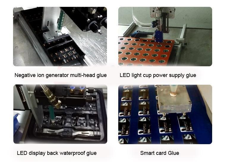 Yiermai automatic liquid dispensing machine glue potting machine 4