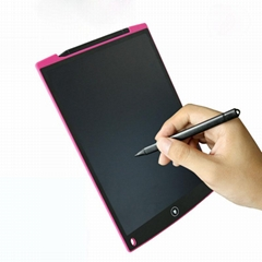 LCD writing tablet 12 inch children lcd electronic writing pad drawing board mag