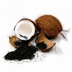 高碘值椰壳果壳活性炭空气净化8-16目颗粒活性炭新房去甲醛活性炭