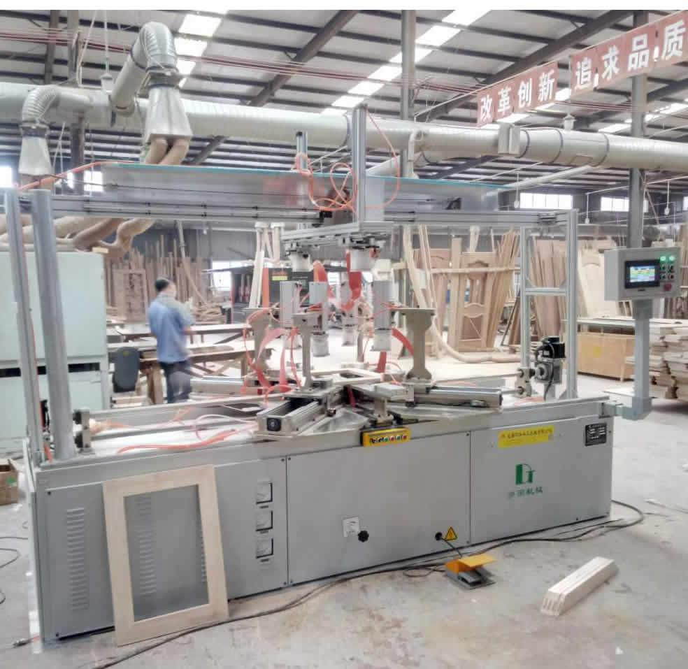 Radio Frequency Precision Frame Assembly Machine
