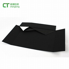 Elegant shape square luxury magnetic paper small folding gift box
