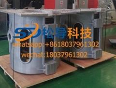 0.5T iron melting furnace