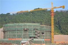 QTZ100(TC6016B) Topkit tower crane Max load 6t or 8t  Maxjib length 60m