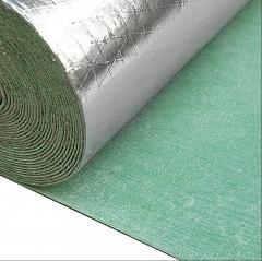 Waterproof Aluminum Foil 2MM Laminated Rubber Underlay - FBRS1011