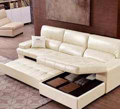 Sofa bed living room small apartment double Nordic wind foldable