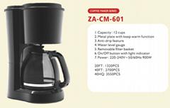 Coffee Maker   6 cups 8