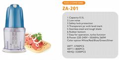 Food Chopper  capacity 1.8L 1.2L 0.5L meat tendon bone vegetables fruits herb
