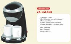 mini Coffee Maker  2 cups capacity  drip type