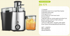 Juicer extractor 0.5L juice jar  2 kinds of rotation speed