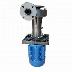 台泉牌塑料PP喷淋塔槽内外立式泵