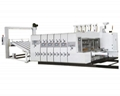 Lead edge feeding flexo printer with die-cutter 1