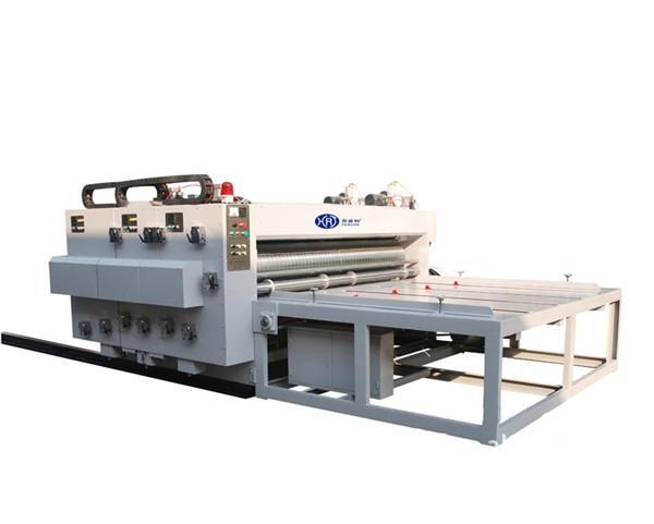 Automatic feeding flexo printer with slotter 1