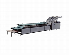 Semi-automatic flute laminating machine
