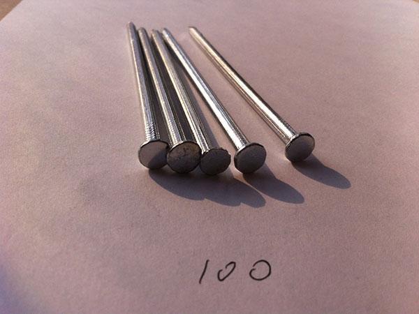 Polished Common Iron Nail 2