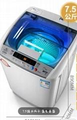 Wheel washing machine