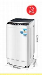 Household large capacity drying washing machine