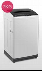Small domestic washing machine