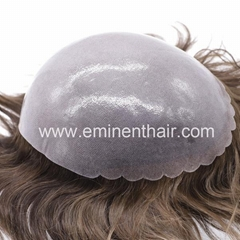 Full Skin Soft Stock Hair Replacement