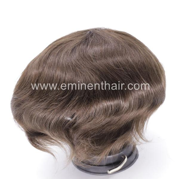 Full Skin Soft Stock Hair Replacement 5