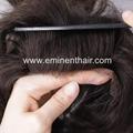 Remy Human Hair Natural  Stock Hair Piece 2