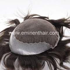 Remy Human Hair Natural  Stock Hair Piece