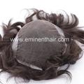 Remy Human Hair Natural  Stock Hair Piece 3