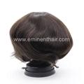 Remy Human Hair Natural  Stock Hair Piece 5