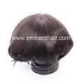 Bleach Knot Soft Hair Replacement Toupee 4