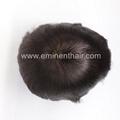 Bleach Knot Soft Hair Replacement Toupee 5