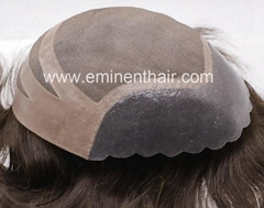 PU Front Stock Hair Toupee Wigs Toupee