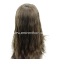 Lace with Clear PU Edge Silk Top Wigs 2