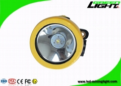 4000lux 2.2Ah anti-explosive led rechargeable underground safety mining helmet l