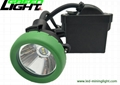 Mining products led underground mining corded cap lamp 10000lux 1