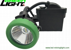 Mining products led underground mining corded cap lamp 10000lux