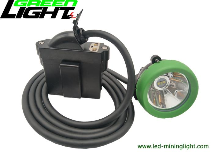 Mining products led underground mining corded cap lamp 10000lux 2