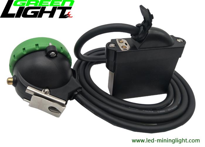 Mining products led underground mining corded cap lamp 10000lux 3