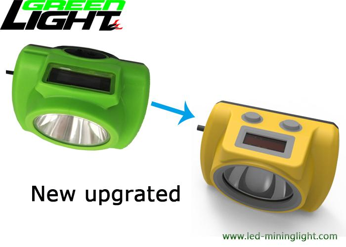 OLED Screen LED Mining Cap Lights GLC-6S ABS/PC Lamp Body For Tracking System 2